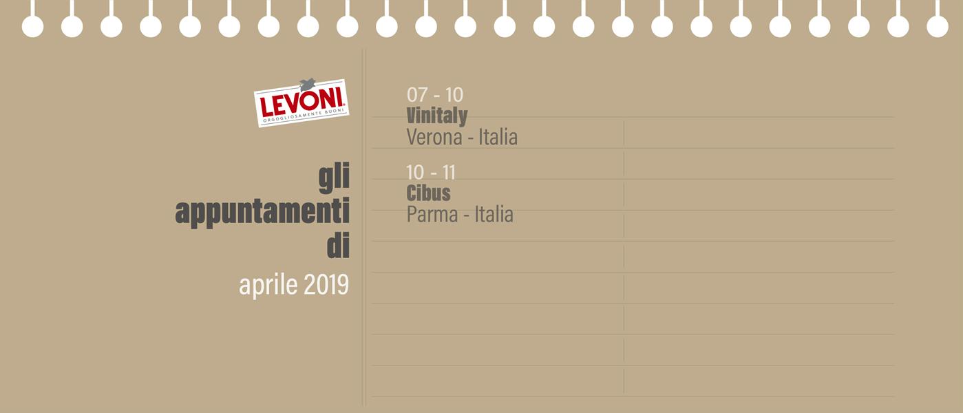 Calendario Enologico.Gli Eventi Di Aprile 2019